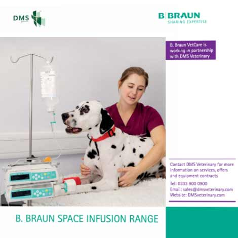 bbraun space infusion range